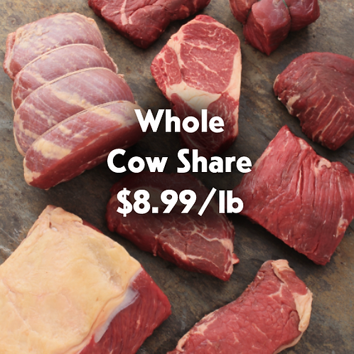 WHOLE COW SHARE [4+ People per household]
