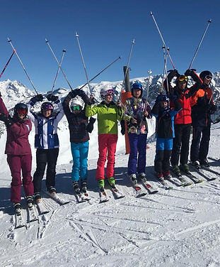 Group Lessons Ski with Abi