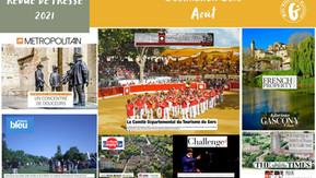 Le Gers dans les médias : près de 70 articles ont vanté la Destination en août