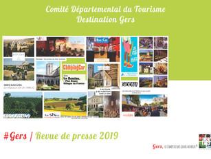 Revue de Presse de l'année 2019 :  plus de 880 articles et reportages ont parlé de la Destinatio