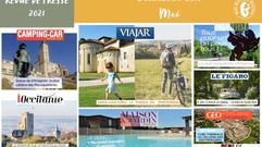 Le Gers dans les médias : plus de 70 articles ont vanté la Destination en mai