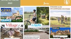 Le Gers dans les médias : plus de 70 articles ont vanté la Destination en juin