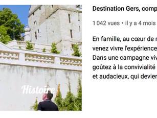 Des vidéos de la Destination Gers à votre disposition pour dynamiser votre promotion !