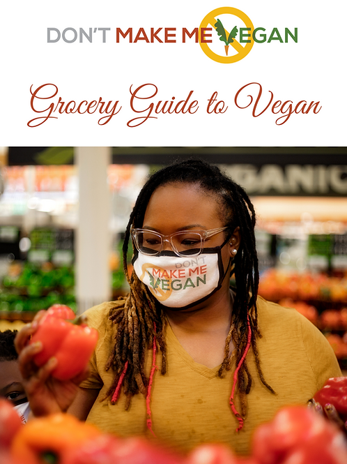 Grocery Guide to Vegan