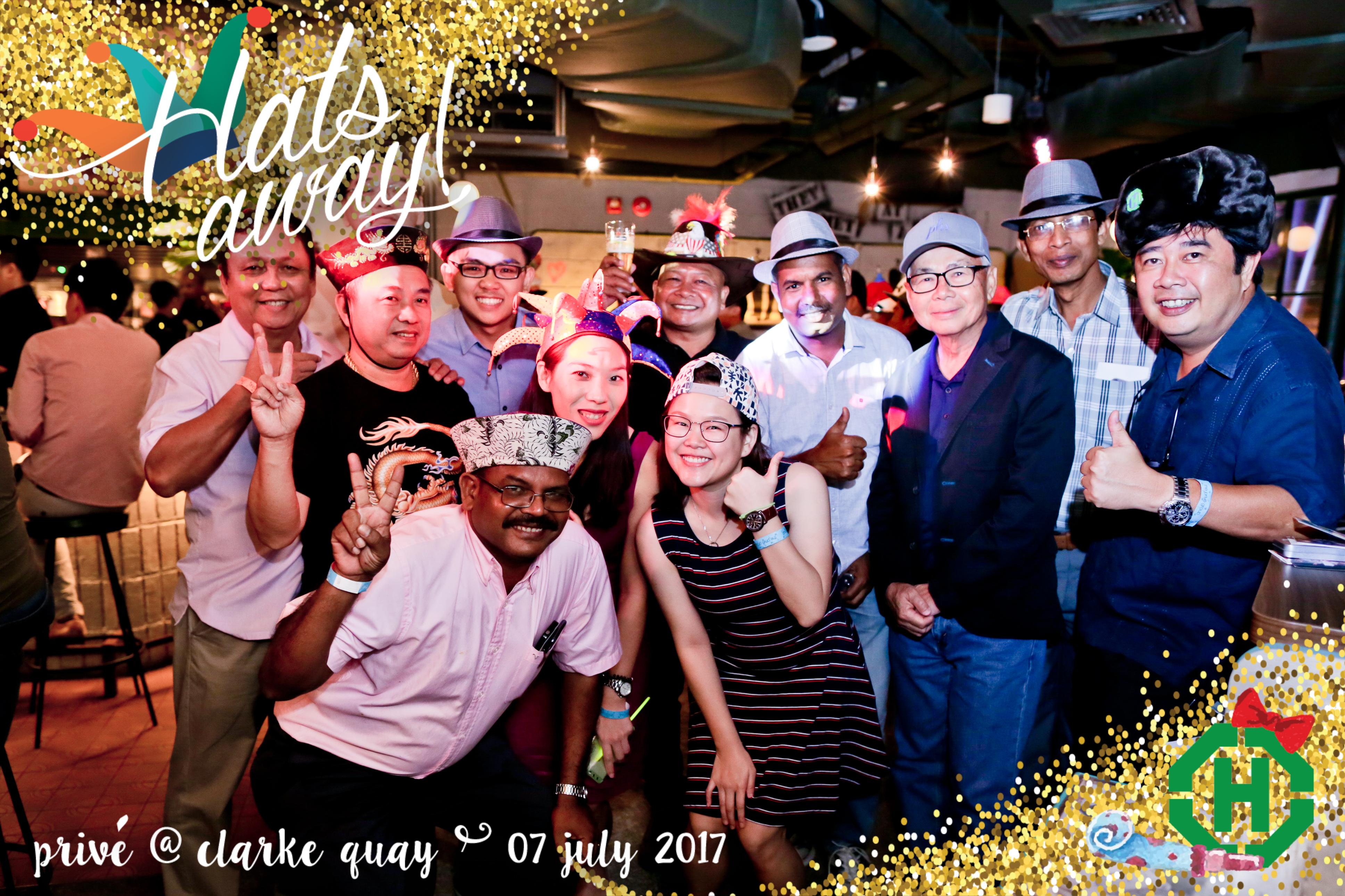Hats Away! 2017
