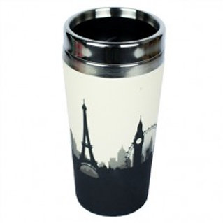 COSMOPOLITAN Thermos bamboo Woodway