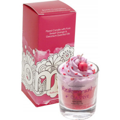 REDCURRANT & CASSIS WHIPPED CANDLE BOMB COSMETICS