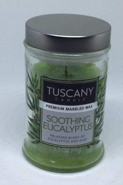 SOOTHING EUCALYPTUS Piccolo TUSCANY CANDLE
