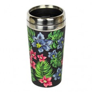 TROPICAL Thermos bamboo Woodway