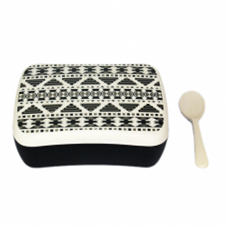 AZTEC WHITE Snack box bamboo Woodway