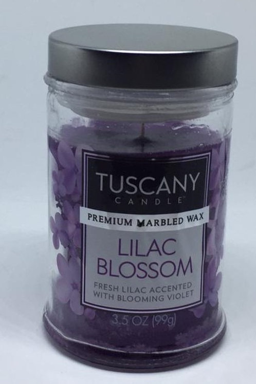 LILAC BLOSSOM Piccolo TUSCANY CANDLE