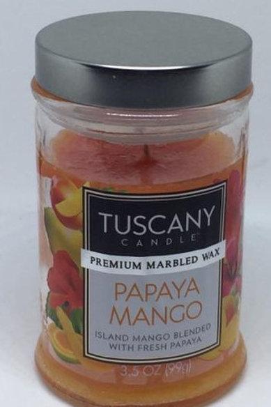 PAPAYA MANGO Piccolo TUSCANY CANDLE