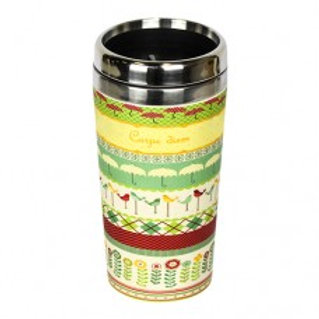 CARPE DIEM Thermos bamboo Woodway