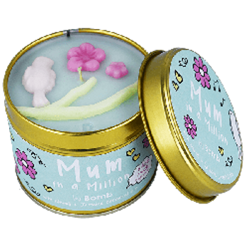 MUM IN A MILLION Tin Candle BOMB COSMETICS