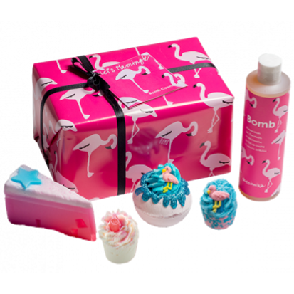 LET'S FLAMINGLE GIFT PACK - BOMB COSMETICS