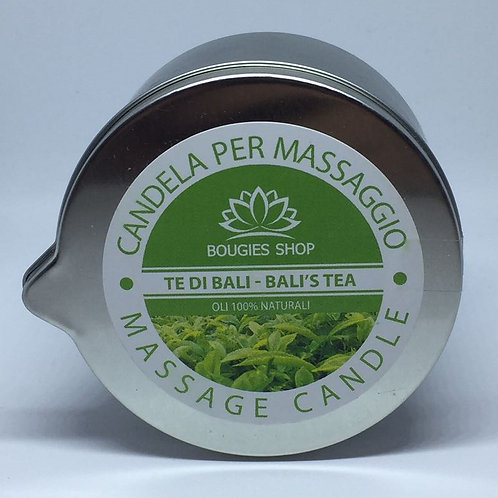 BALI'S TEA Candela da massaggio - BOUGIES SHOP