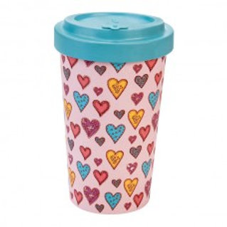 CANDY HEARTS Tazza to go bamboo Woodway