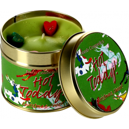 HOT TODDY Tin Candle BOMB COSMETICS