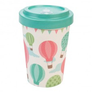 BALOONS GREEN Tazza to go bamboo Woodway