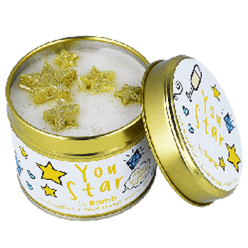 YOU STAR Tin Candle BOMB COSMETICS