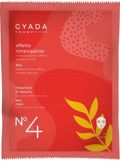 MASCHERA VISO n° 4 in tessuto RIMPOLPANTE – Gyada Cosmetics
