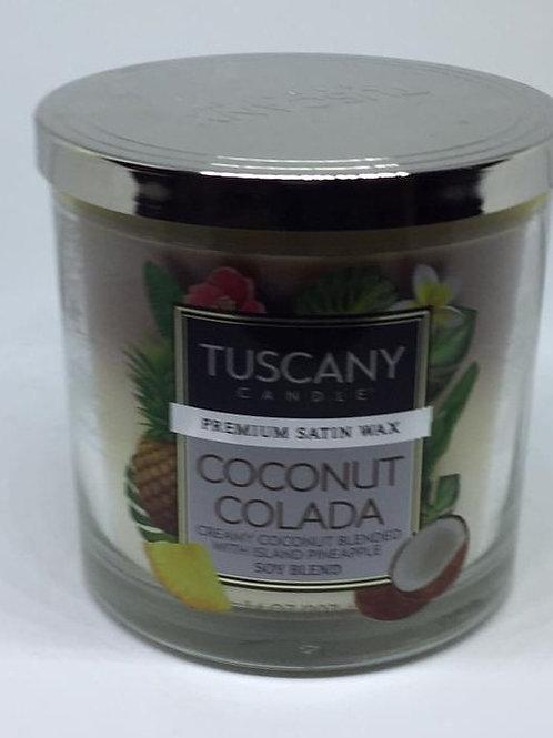 COCONUT COLADA Media TUSCANY CANDLE