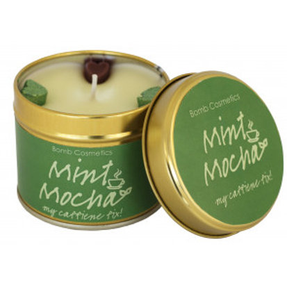 MINT MOCHA Tin Candle BOMB COSMETICS