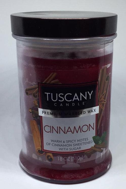 CINNAMON TUSCANY CANDLE