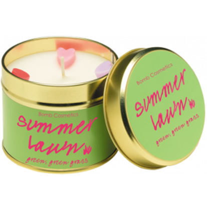 SUMMER LAWN Tin Candle BOMB COSMETICS