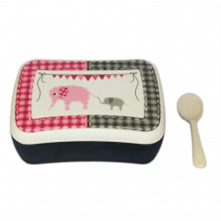 ELEPHANT Snack box bamboo Woodway