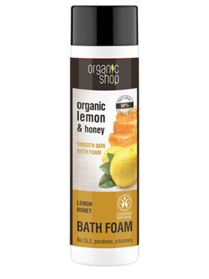 LEMON HONEY BATH FOAM  ORGANIC SHOP