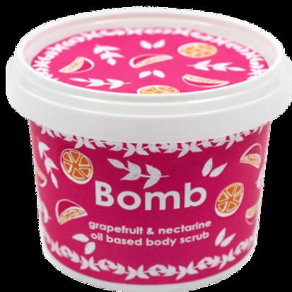 GRAPEFRUIT & NECTARINE BODY SCRUB BOMB COSMETICS
