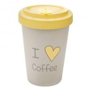 LOVE COFFEE Tazza to go bamboo Woodway