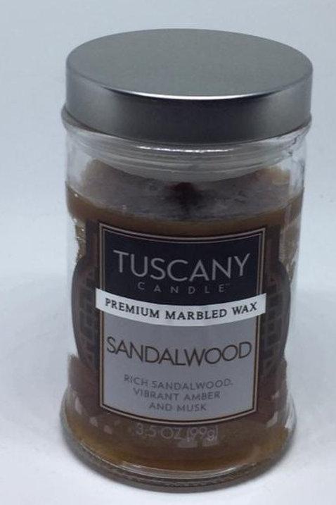 SANDALWOOD Piccolo TUSCANY CANDLE