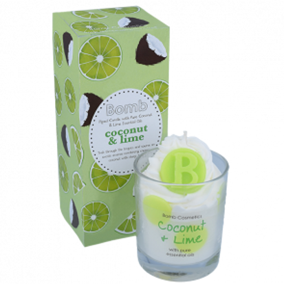 COCONUT & LIME WHIPPED CANDLE BOMB COSMETICS