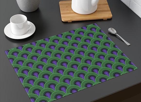Room 237 Overlook Hotel Carpet Pattern Placemat- The Shining