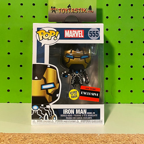 Funko Pop Vinyl Iron Man Model 39 Exclusive