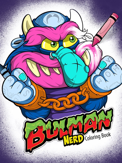 Bulman Nerd Coloring book