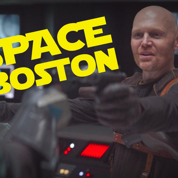 """Bill Burr Fires Back At Critics About His """"Space Boston"""" Accent From Mandalorian On The Tonight Show"""