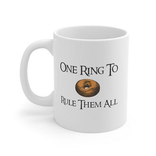 Lord Of The Rings- Bagel Coffee Mug