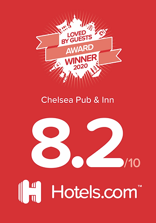 The Chelsea Inn, rated 8.2 out of 10 on