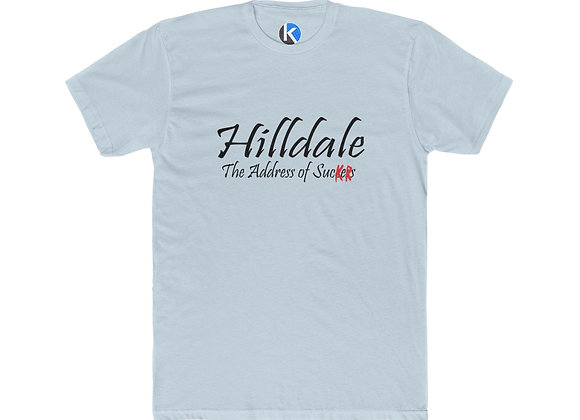 Back To The Future homage Hilldale sign recreation cotton tee