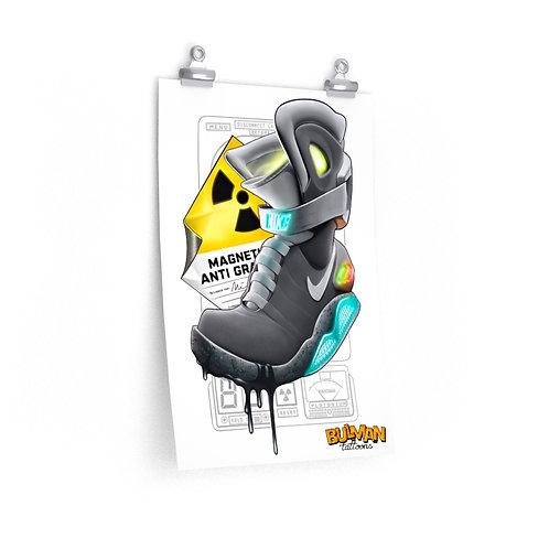Nike Air Mag Premium Matte Print- Karicature Kicks