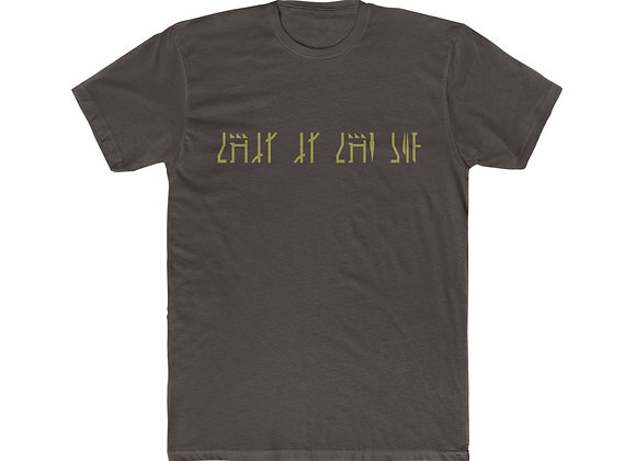 "Mandlorian ""This Is The Way"" Mythosaur Unisex Cotton Crew Tee Star Wars"