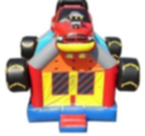 Monster Truck Bounce House Rental: Atlan