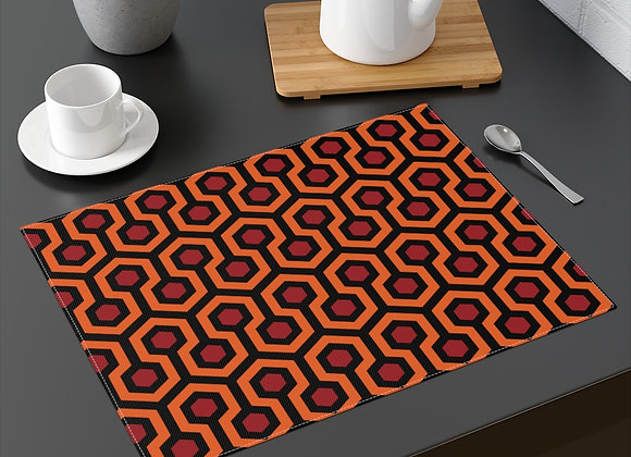 Overlook Hotel Carpet Pattern Placemat- The Shining