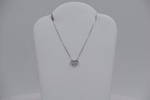 Pave Diamond Ohm Pendant, 077-DPS