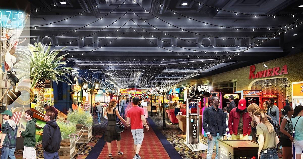 Lucky Snake Arcade coming to Showboat Atlantic City.