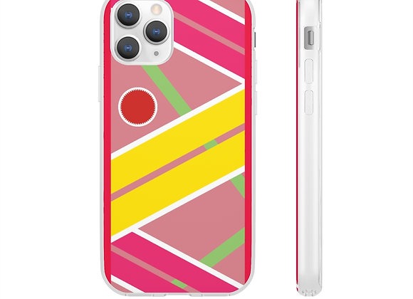 Hoverboard Pattern Flexi Case Back To The Future