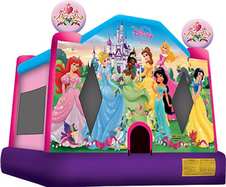 Disney Princess Bounce House Rental from